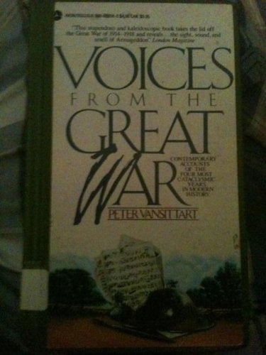 9780380698561: Voices from the Great War