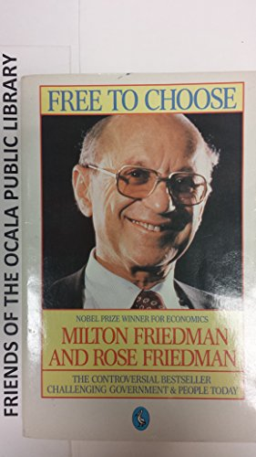 9780380698790: Free to Choose: A Personal Statement