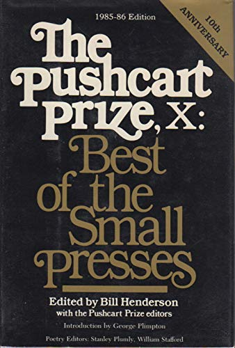 9780380699155: The Pushcart Prize, IX: Best of the Small Presses