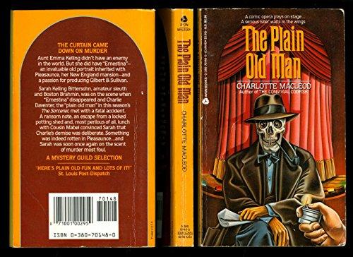 9780380701483: The Plain Old Man (Sarah Kelling and Max Bittersohn Mysteries)