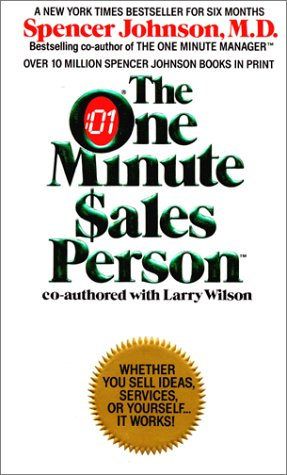 9780380701513: The One Minute Sales Person