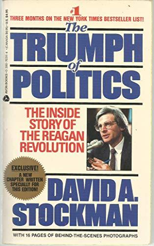 9780380703111: Triumph of Politics: The Inside Story of the Reagan Revolution