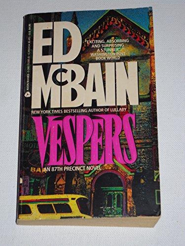 9780380703852: Vespers: An 87th Precinct Novel