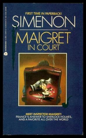 9780380704118: Maigret in Court