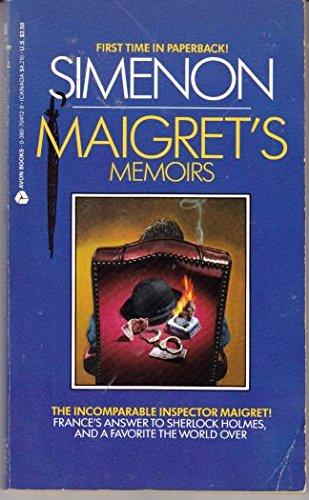 9780380704125: Maigret's Memoirs (Inspector Maigret Mysteries)