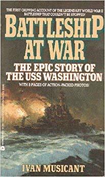 9780380704873: Battleship at War: The Epic Story of the Uss Washington