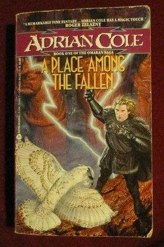 9780380705566: A Place Among the Fallen (Omaran Saga, Book 1)