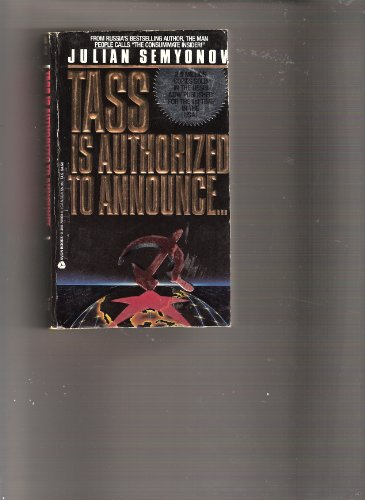 9780380705696: Tass Is Authorized to Announce...