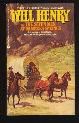 9780380706051: The Seven Men at Mimbres Springs
