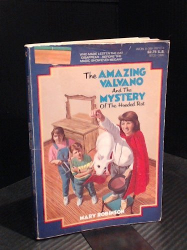 9780380707133: The Amazing Valvano and the Mystery of the Hooded Rat