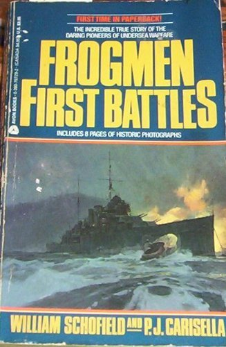 9780380707294: Frogmen: First Battles