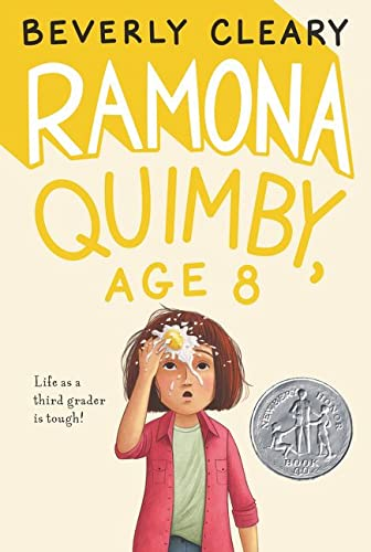 9780380709564: Ramona Aged 8 (Avon Camelot Books)