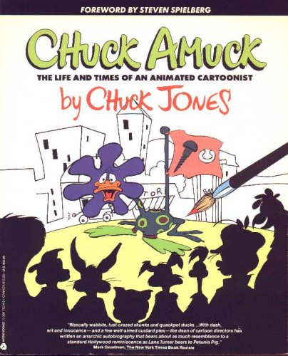 9780380712144: Chuck Amuck: The Life and Times of an Animated Cartoonist