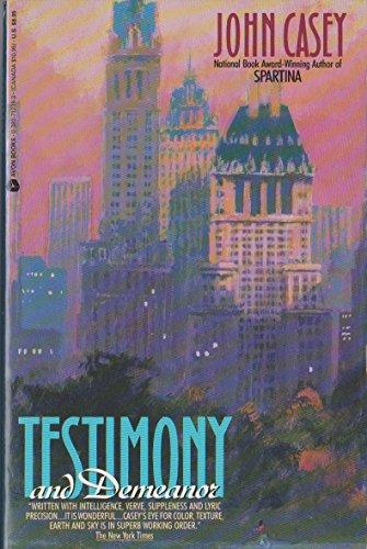 9780380712397: Testimony and Demeanor