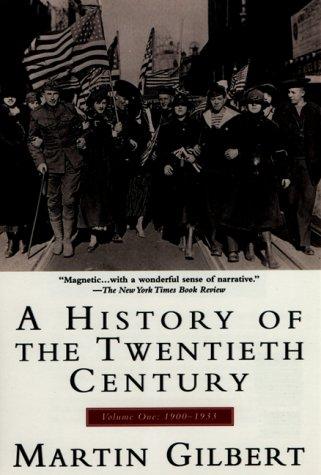9780380713936: A History of the Twentieth Century: Volume 1, 1900-1933