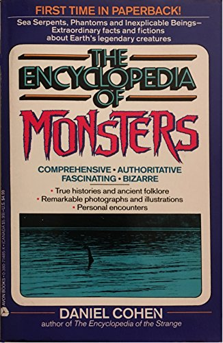 9780380714858: The Encyclopedia of Monsters