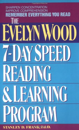 9780380715770: Remember Everything You Read: The Evelyn Wood 7-Day Speed Reading & Learning Program