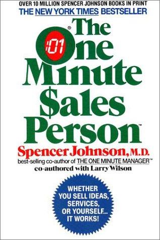 9780380716036: The One Minute Sales Person