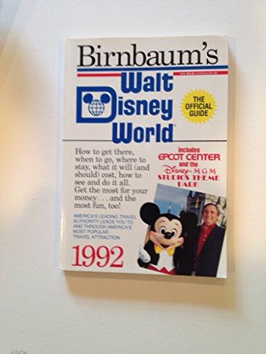 9780380717842: Walt Disney World 1992