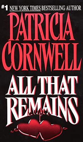 9780380718337: All That Remains (Patricia Cornwell)