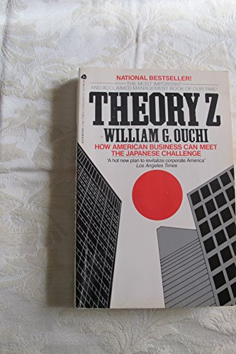 9780380719440: Theory Z: How American Business Can Meet the Japanese Challenge
