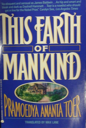 This Earth of Mankind (0380719746) by Pramoedya Ananta Toer