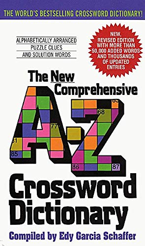9780380724253: New Comprehensive A-Z Crossword Dictionary