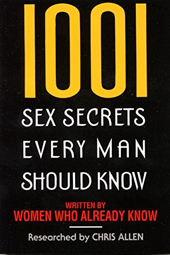 9780380724833: 1001 Sex Secrets Every Man Should Know