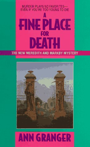 9780380725731: A Fine Place for Death: A Meredith and Markby Mystery (Meredith and Markby Mysteries)