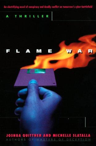 9780380725861: Flame War: A Cyberthriller
