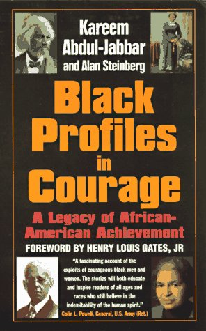 9780380730605: Black Profiles in Courage : A Legacy of African American Achievement