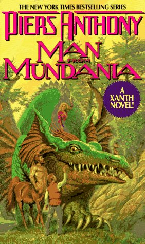 9780380752898: Man from Mundania (Xanth, No. 12)