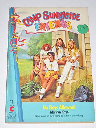 9780380757008: No Boys Allowed (Camp Sunnyside Friends)