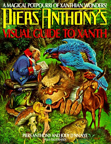 9780380757497: Piers Anthony's Visual Guide to Xanth