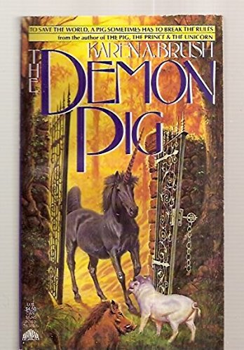 9780380757602: The Demon Pig