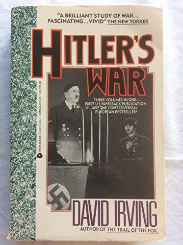 9780380758067: Hitler's War