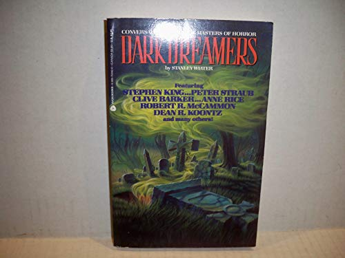 9780380759903: Dark Dreamers: Conversations With Masters of Horror