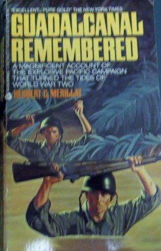 9780380761029: Guadalcanal Remembered