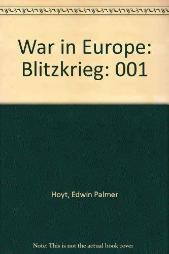 9780380761555: 001: War in Europe: Blitzkrieg