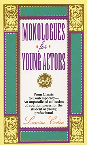 Monologues for Young Actors: Cohen, Lorraine