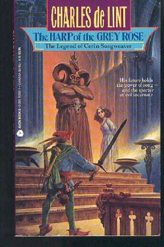 9780380762026: The Harp of the Grey Rose: The Legend of Cerin Songweaver