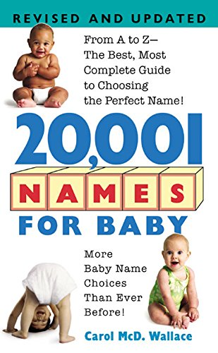 9780380762279: 20,001 Names For Baby: Revised and Updated