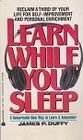 Learn While You Sleep: Duffy, James P.