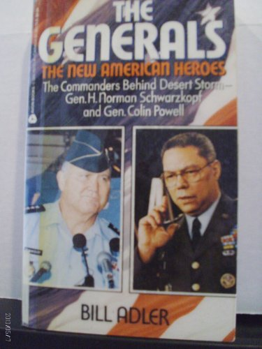 9780380767212: The Generals: The New American Heroes