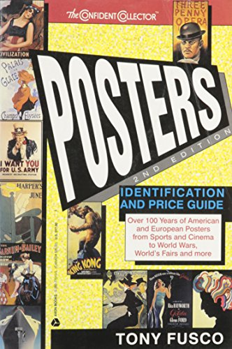 9780380770106: Posters: Identification and Price Guide (The confident collector)