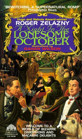 9780380771417: A Night in the Lonesome October