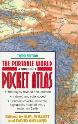 9780380773299: Portable World Atlas