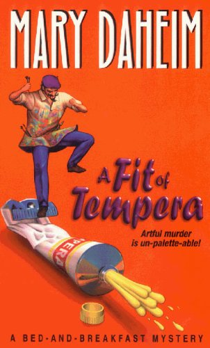 9780380774906: A Fit of Tempera (Bed-and-Breakfast Mysteries)