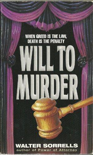 9780380780204: Will to Murder