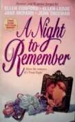 9780380780389: A Night to Remember (An Avon Flare Book)